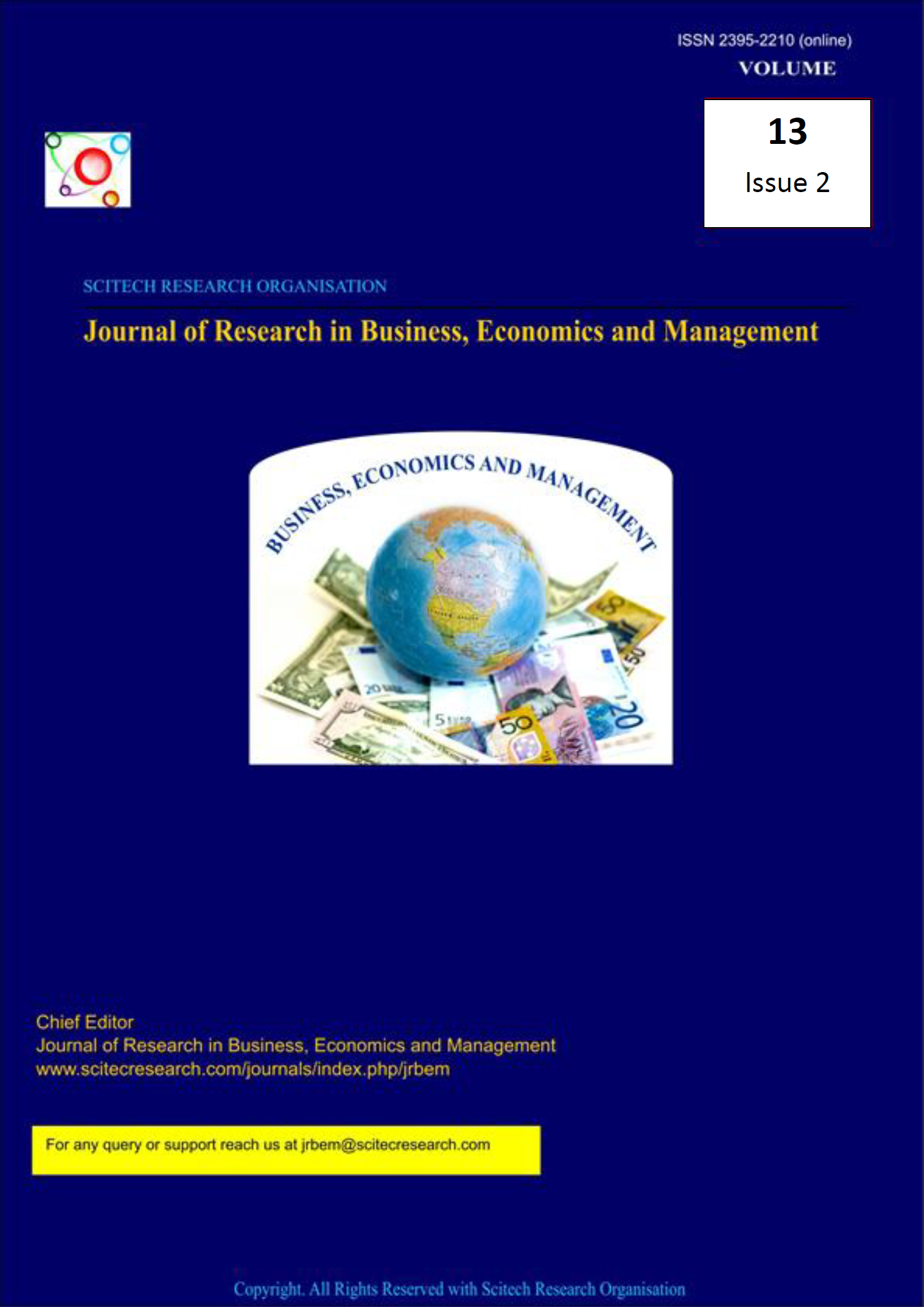 Journal of Research in Business, Economics and Management